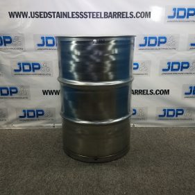 55 gal 304 NEW OTHER stainless Closed Head Barrel with Sanitary Seamless Construction (1.5mm) SKU B10