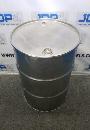 stainless steel open top barrel