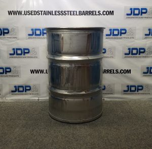 Used Stainless Steel Barrel