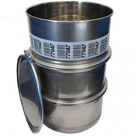 55 Gallon 316 USED Stainless Steel Open Head Barrel Sanitary Bottom (1.5mm)