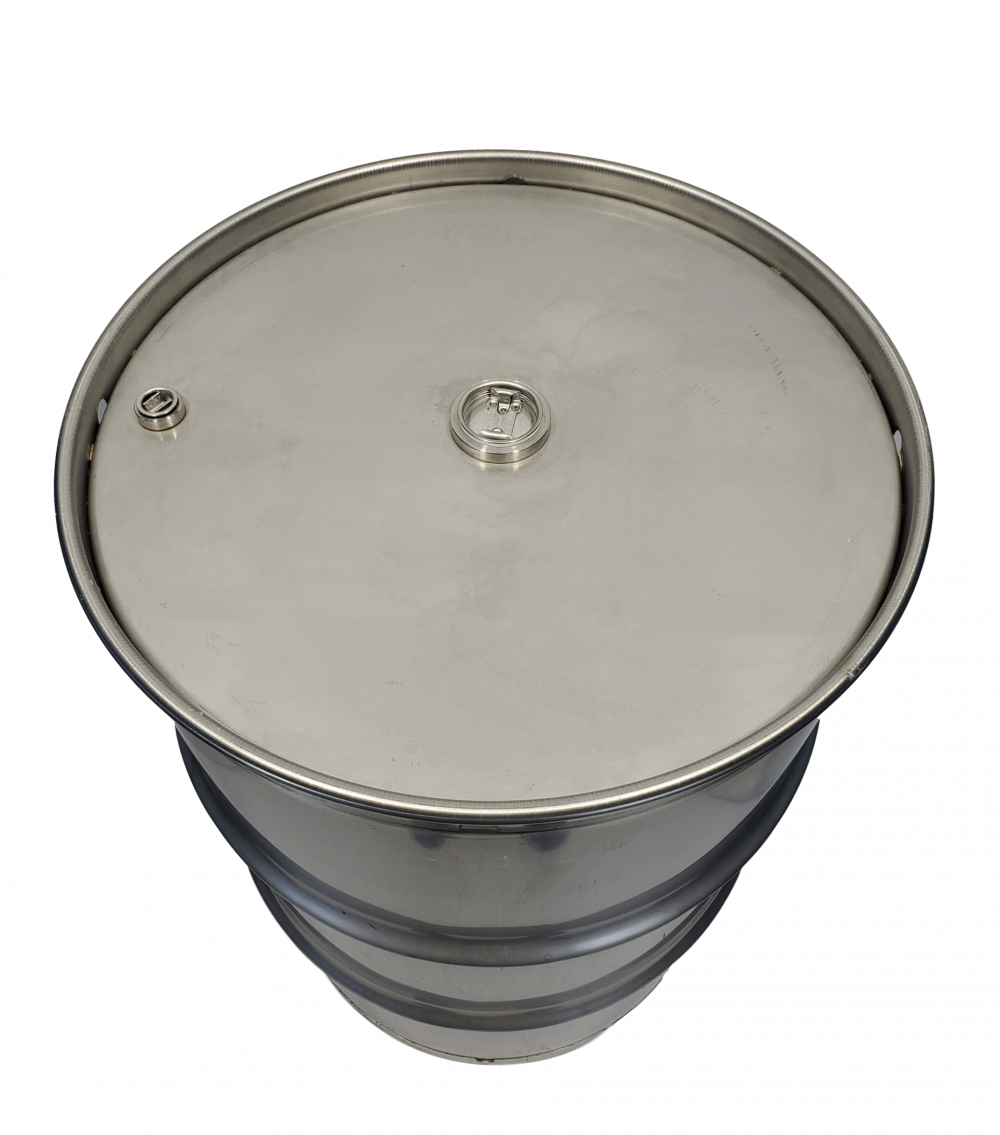 Stainless Steel Closed top barrel